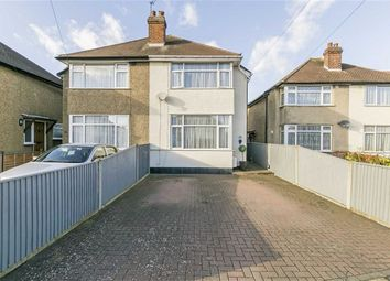 Thumbnail 2 bed semi-detached house for sale in Cedarcroft Road, Chessington, Surrey