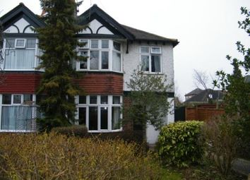 Thumbnail 3 bed semi-detached house for sale in Bramcote Road, Beeston, Nottingham, Nottinghamshire