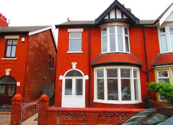Thumbnail 3 bed semi-detached house to rent in Manor Road, Blackpool, Lancashire