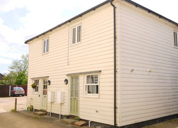 Thumbnail 2 bed semi-detached house for sale in Glemsford, Sudbury, Suffolk