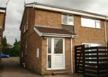 Thumbnail 2 bed flat for sale in Buckfast Close, Leicester