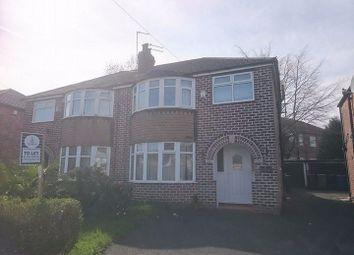 Thumbnail 3 bed semi-detached house to rent in Oaklands Drive, Prestwich, Manchester