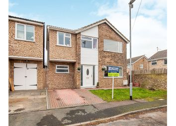 Thumbnail 4 bed detached house for sale in Bell Close, Stilton, Peterborough