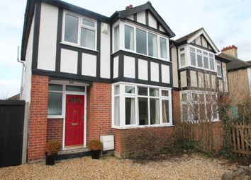 Thumbnail 3 bed semi-detached house to rent in Rosamond Road, Bedford