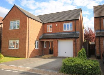 Thumbnail 4 bed detached house for sale in Ascot Close, Northallerton