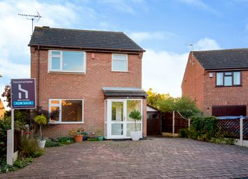Thumbnail 3 bedroom detached house for sale in Glenn Way, Shardlow, Derby