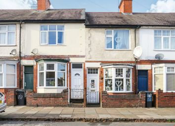 Thumbnail 2 bed terraced house for sale in Vernon Road, Leicester