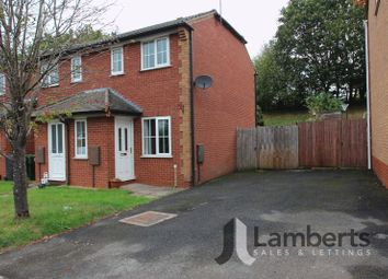 Thumbnail 2 bedroom terraced house for sale in Abbey Close, Bromsgrove