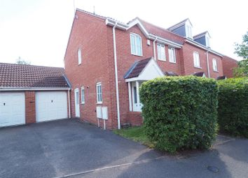 Thumbnail 3 bed end terrace house for sale in Stirling Drive, Coddington, Newark