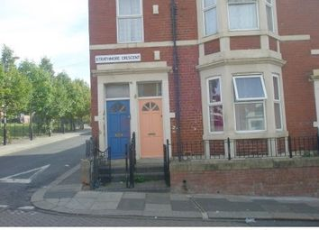Thumbnail 5 bed maisonette to rent in Strathmore Crescent, Newcastle Upon Tyne