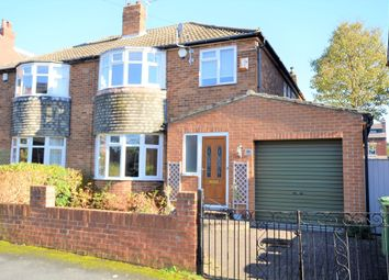 Thumbnail 4 bed semi-detached house to rent in Gledhow Wood Avenue, Leeds