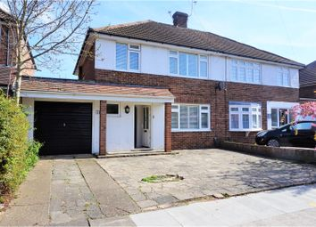 Thumbnail 3 bedroom semi-detached house for sale in Dane Close, Bexley