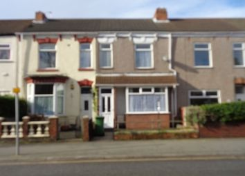 Thumbnail 2 bedroom terraced house to rent in Hainton Avenue, Grimsby