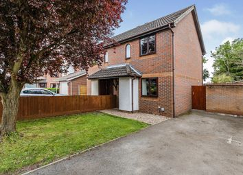 Thumbnail 2 bed semi-detached house for sale in Laxton Close, Attleborough