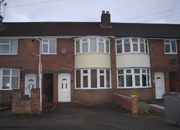 Thumbnail 3 bed town house to rent in Abbeycourt Road, Leicester