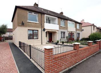 Thumbnail 2 bed flat for sale in Hazel Road, Grangemouth, Stirlingshire