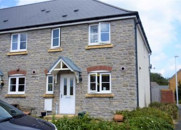Thumbnail 3 bed end terrace house for sale in Parc Penderi, Swansea