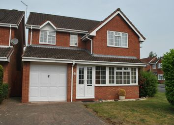 Thumbnail 4 bed detached house to rent in Oatfield Close, Whitchurch, Shropshire