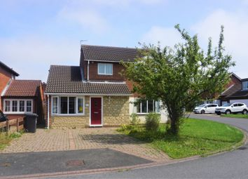 Thumbnail 4 bed detached house for sale in Falcon Court, Ashington