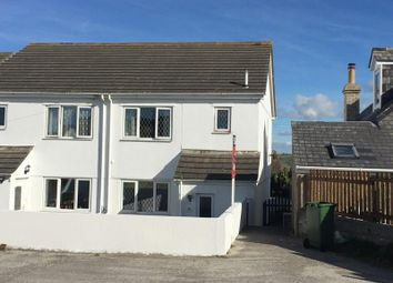 Thumbnail 3 bedroom semi-detached house for sale in Gwythian Way, Perranporth