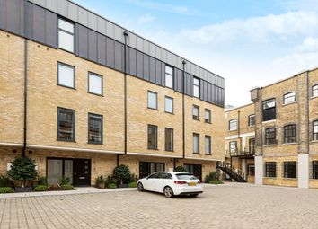 Thumbnail 3 bed town house to rent in Oxbridge Terrace, Palace Wharf, Fulham, London