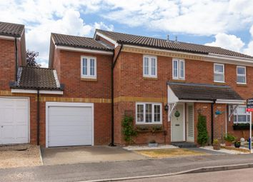 Thumbnail 3 bed semi-detached house for sale in Eisenberg Close, Baldock
