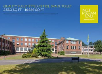 Thumbnail Office to let in 1 Pixham End, Dorking, Surrey