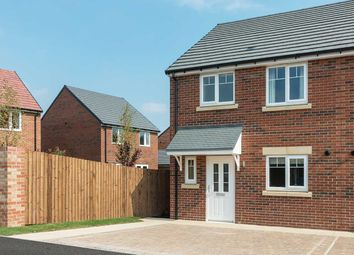 """Thumbnail 3 bed semi-detached house for sale in """"The Eveleigh A"""" at Douglas Crescent, Auckland Park, Bishop Auckland"""