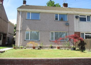 Thumbnail 3 bed semi-detached house for sale in Heol Camlas, Cwmavon, Port Talbot, Neath Port Talbot.