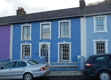 Thumbnail 4 bed town house for sale in Greenland Terrace, Aberaeron