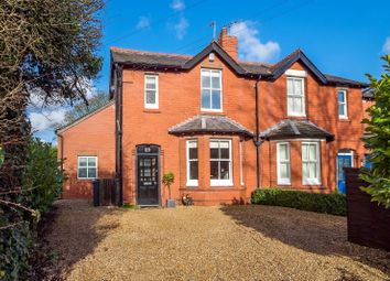 Thumbnail 4 bed semi-detached house for sale in Higher Lane, Lymm, Cheshire