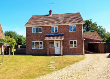Thumbnail 4 bed detached house for sale in Brecklands Green, North Pickenham, Swaffham