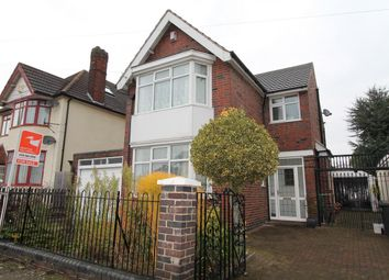 Thumbnail 3 bedroom detached house for sale in Sandringham Avenue, Belgrave, Leicester