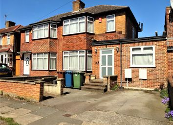 Thumbnail 5 bedroom semi-detached house for sale in Derwent Crescent, Stanmore