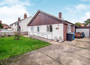 Thumbnail 3 bed detached bungalow for sale in Mill Lane, Corton, Lowestoft