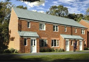 "Thumbnail 3 bed semi-detached house for sale in ""The Hanbury"" at Newcastle Road, Shavington, Crewe"