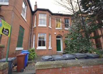 Thumbnail 8 bed terraced house to rent in Wilmslow Road, Withington, Manchester, Greater Manchester