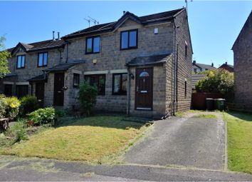 Thumbnail 2 bed end terrace house for sale in Weavers Croft, Pudsey