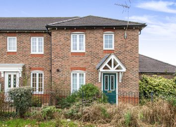 Thumbnail 3 bedroom end terrace house for sale in Rose Farm Close, Ferndown