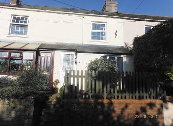 Thumbnail 2 bed terraced house to rent in Dottery Road, Bridport