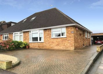 Thumbnail 2 bed semi-detached bungalow for sale in Alderwood Drive, Abridge, Romford