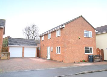 Thumbnail 4 bed detached house for sale in Collingwood Road, Eaton Socon, St. Neots