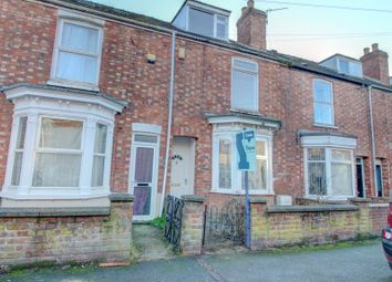 Thumbnail 3 bed terraced house for sale in Cromwell Street, Gainsborough