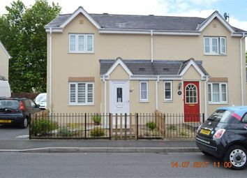 Thumbnail 3 bed semi-detached house for sale in Ffordd Cambria, Swansea