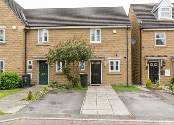 Thumbnail 2 bedroom end terrace house for sale in Cusworth Close, Halifax, West Yorkshire