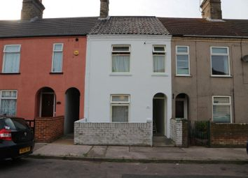 Thumbnail 2 bedroom terraced house for sale in 6 St Leonards Road, Lowestoft, Suffolk