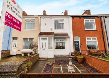 Thumbnail 2 bed terraced house for sale in Marine Drive, Hartlepool