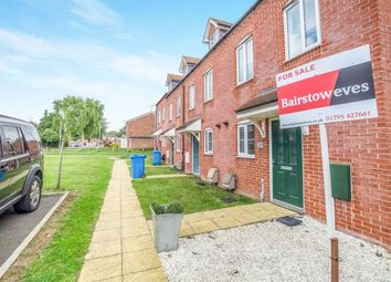 Thumbnail 3 bed end terrace house for sale in Standen Grove, Great Easthall, Sittingbourne, Kent