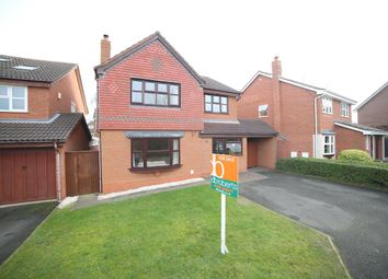 Thumbnail 4 bed detached house for sale in Donnerville Close, Wellington, Telford