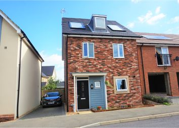 Thumbnail 3 bedroom detached house for sale in Whiting Close, Wolverton